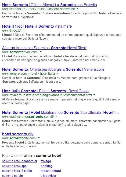 Google Social Search - esempio 2