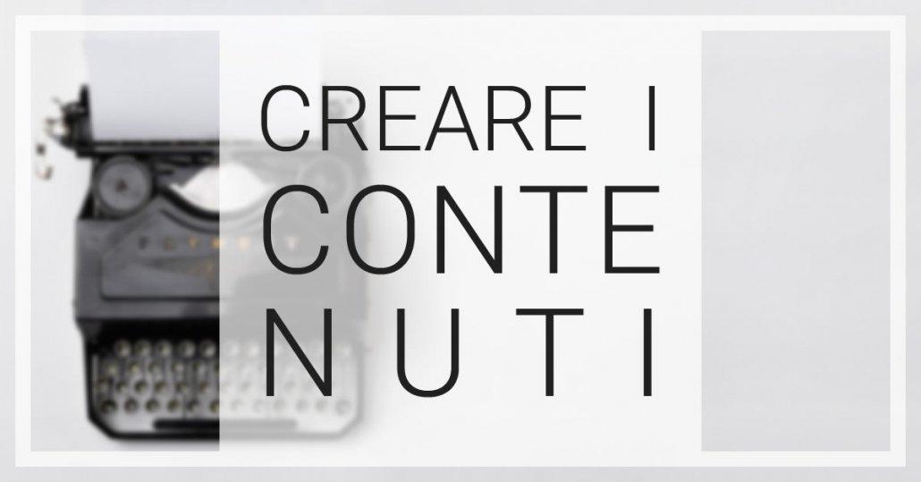 creazione contenuti sito web