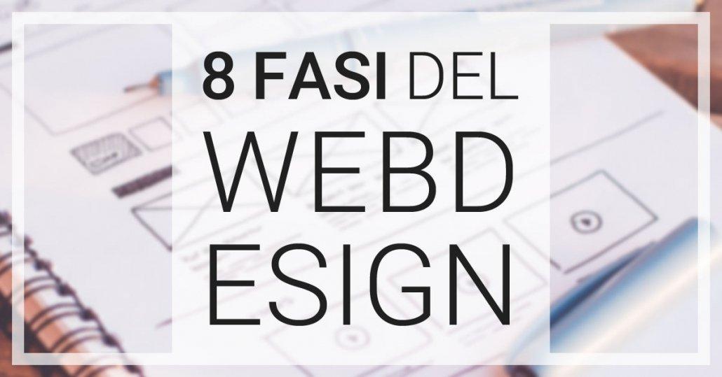 fasi del web design