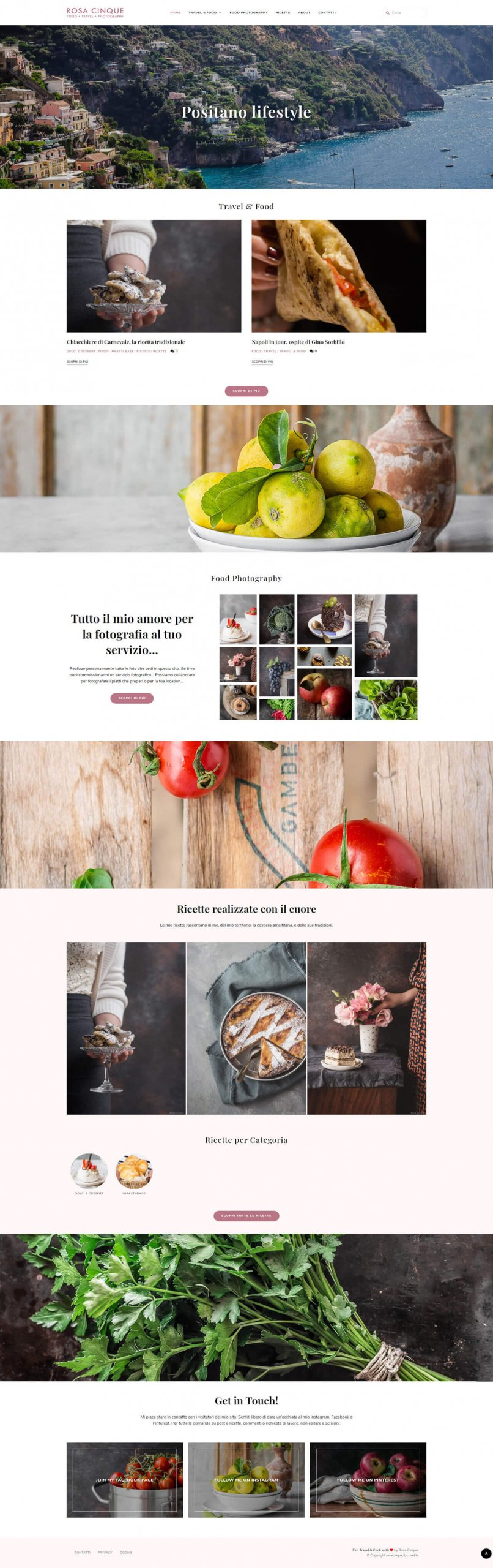 blog travel food - home page