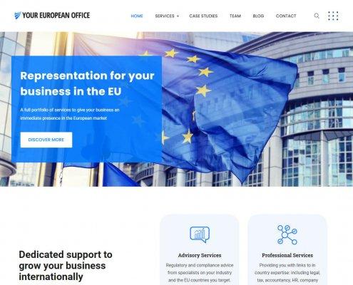 realizzazione sito business Your European Office